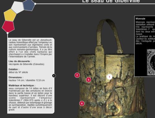 Seau de Giberville – Borne interactive